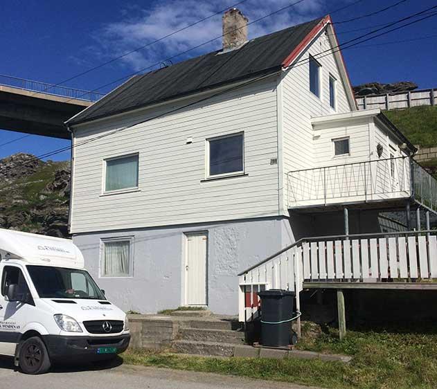 """Villa Fiskelykke"" i Havøysund"